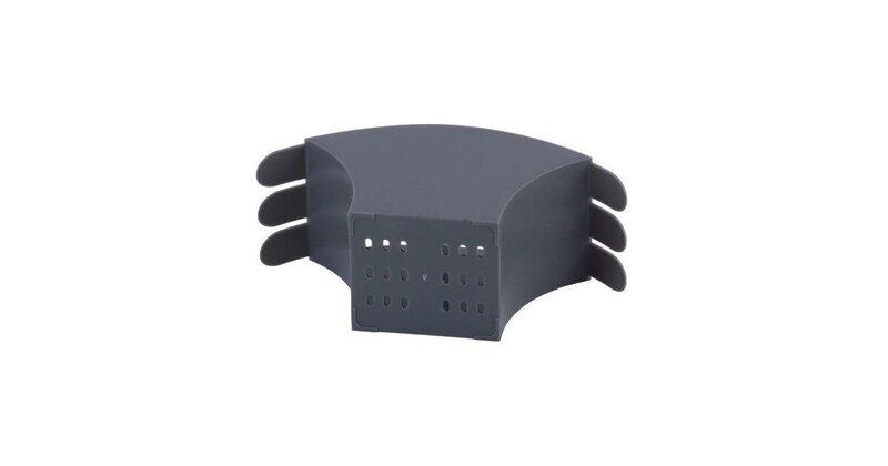 Nõudekuivatusrest KAMILLE 0769C, 41.5 cm, must hind
