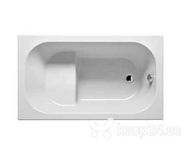 Vann RIHO Petit 120x70 cm цена и информация | Vannid | kaup24.ee