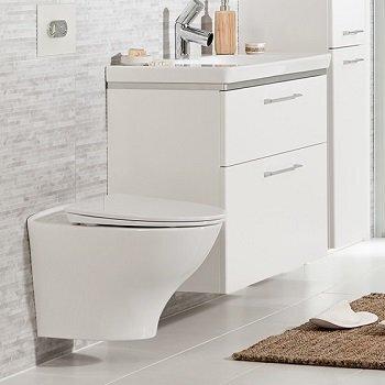 WC-pott IDO Glow Rimfree koos aeglaselt sulguva kaanega цена и информация | WС-potid | kaup24.ee