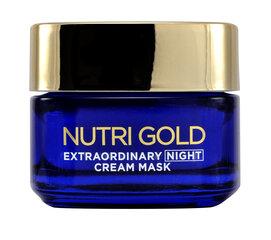 Öökreem - mask L'Oreal Paris Nutri Gold Extraordinary 50 ml