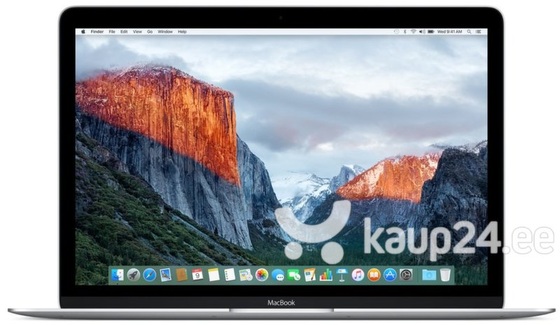 Apple MacBook 12 Retina (MF865RS/A) EN/RU цена и информация | Sülearvutid | kaup24.ee