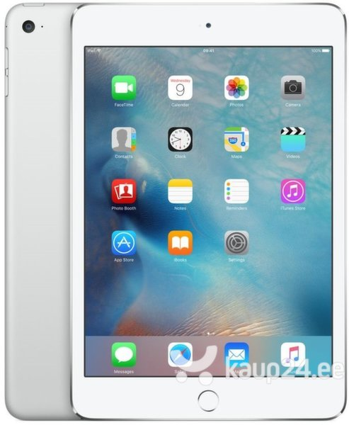 Apple iPad Mini 4 WiFi+4G (64GB), Hõbedane, MK732HC/A цена и информация | Tahvelarvutid | kaup24.ee