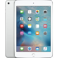 Apple iPad Mini 4 WiFi+4G (128GB), Hõbedane, MK772HC/A