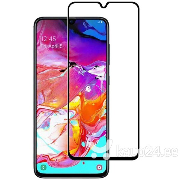 Ekraani kaitseklaas telefonile SAMSUNG GALAXY A01/A015 Tempered glass Full Glue, Full Cover SOUNDBERRY