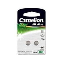 Patareid Camelion Alkaline Button Celles 1.5V, LR754/AG5/LR48/393, 2 tk. hind ja info | Patareid Camelion Alkaline Button Celles 1.5V, LR754/AG5/LR48/393, 2 tk. | kaup24.ee