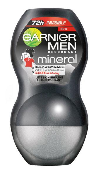 Garnier Men Mineral Black White Colors шариковый дезодорант цена и информация | Deodorandid | kaup24.ee