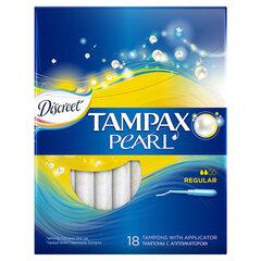Tampoonid Tampax Pearl Regular, 18 tk