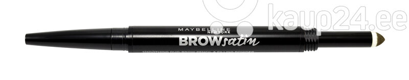 Maybelline Brow Satin Duo-Карандаш  И Пудра Для Бровей цена и информация | Silmadele | kaup24.ee