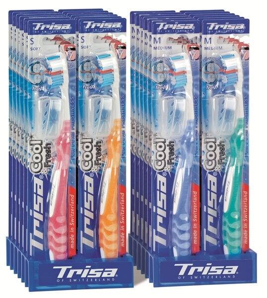 Pehme hambahari Cool & Fresh Trisa, 1 tk hind ja info | Suuhügieen | kaup24.ee
