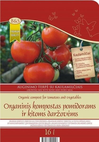 Orgaaniline kompost tomatitele 16 L