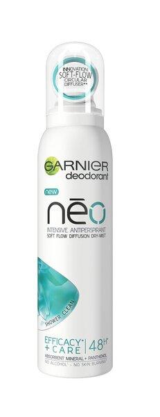 Spreideodorant Garnier Neo Shower Dry Mist hind ja info | Deodorandid | kaup24.ee