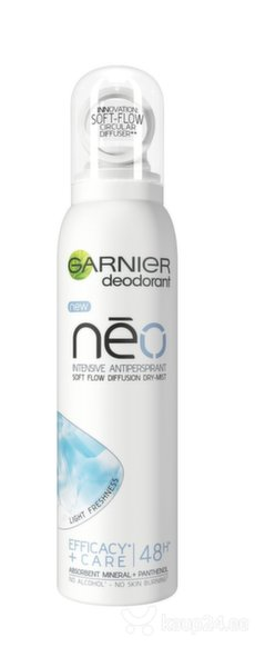 GARNIER NEO LIGHT FRESHNESS Сухой антиперспирант-спрей  цена и информация | Deodorandid | kaup24.ee