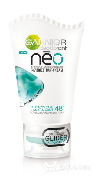 Kreemdeodorant Garnier Neo Shower Clean intensive