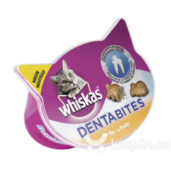 Whiskas Dentabites kassimaius kanalihaga, 40 g