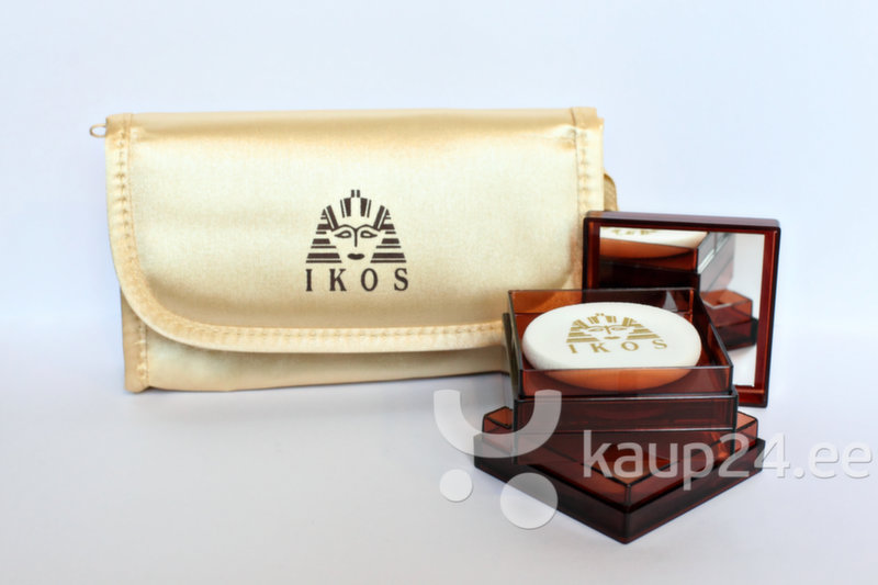 Комплект IKOS: Egyptian Tanning Clay 12 g naturelle + Professional Make-up 12 g medium + косметичка IKOS