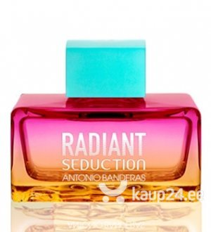 Tualettvesi Antonio Banderas Radiant Seduction Blue EDT naistele 100 ml цена и информация | Naiste lõhnad | kaup24.ee
