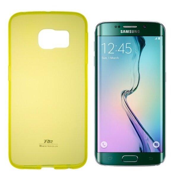 Kaitseümbris Roar Ultra Slim 0.3mm sobib Samsung Galaxy Note 4 (N910), kollane цена и информация | Mobiili ümbrised, kaaned | kaup24.ee