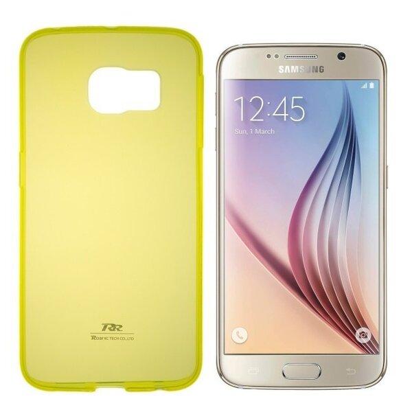 Kaitseümbris Roar Ultra Slim 0.3mm sobib Samsung Galaxy Grand Prime (G530/G531), kollane цена и информация | Mobiili ümbrised, kaaned | kaup24.ee