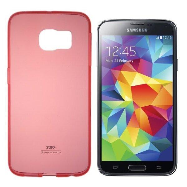 Kaitseümbris Roar Ultra Slim 0.3mm sobib Samsung Galaxy Grand Prime (G530/G531), punane