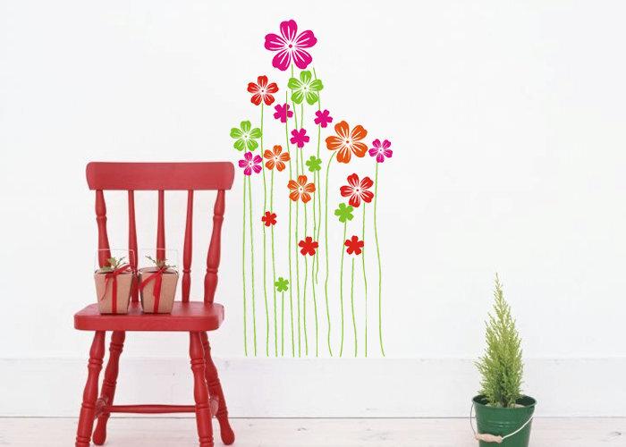 Декоративная наклейка Цветок цена и информация | Seinakleebised | kaup24.ee