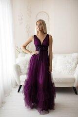 Naiste elegantne pikk kleit, lilla hind ja info | Kleidid | kaup24.ee