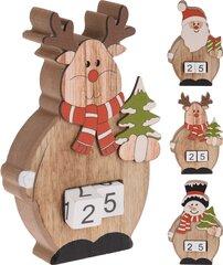 Jõuludekoratsioon Advendikalender hind ja info | Jõulukaunistused | kaup24.ee