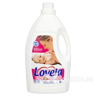 Pesuvedelik Lovela Color, 3 L цена и информация | Pesuvahendid | kaup24.ee