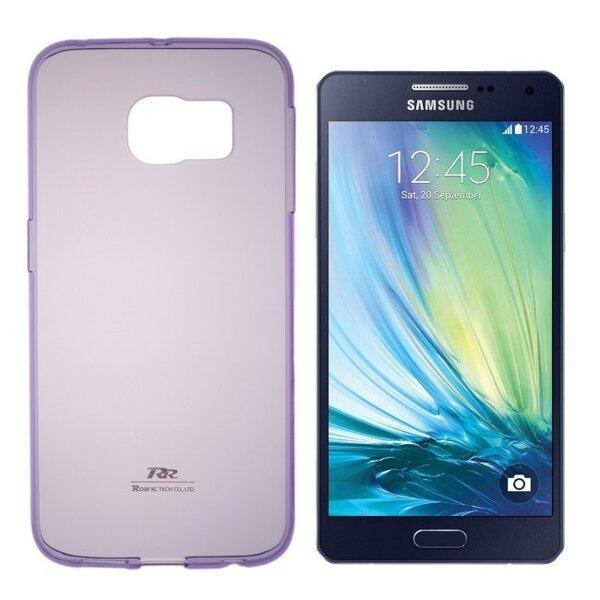 Kaitseümbris Roar Ultra Slim 0.3mm sobib Samsung Galaxy A5 (A500F), lilla цена и информация | Mobiili ümbrised, kaaned | kaup24.ee