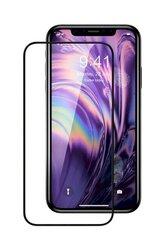 Fusion Full Glue 5D karastatud klaas, kaetud raamiga Apple iPhone XS Black hind ja info | Ekraani kaitsekiled | kaup24.ee