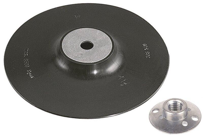 Kummitald M14 125mm liivapaberile WOLFCRAFT 2454000:W цена и информация | Käsitööriistad | kaup24.ee