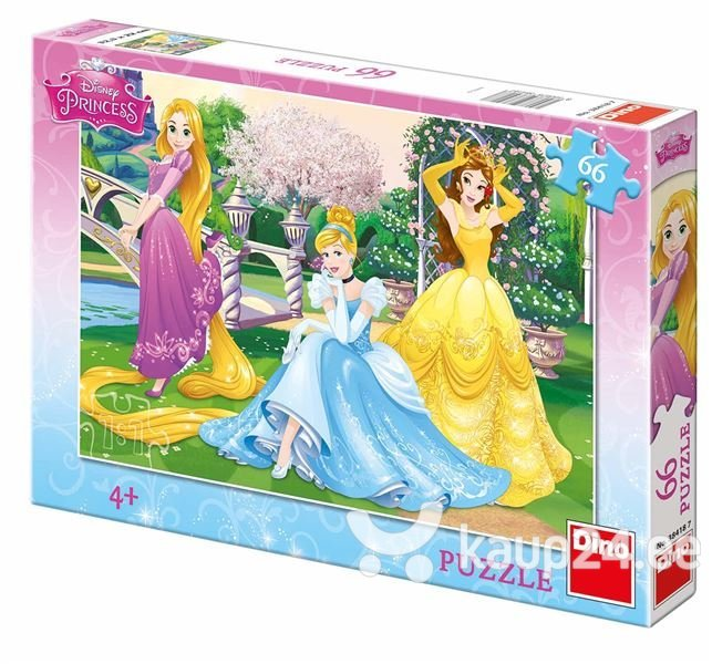 Pusle Dino, Princess in the Garden (66 tk.), 384187 цена и информация | Puzzle, mõistatused | kaup24.ee