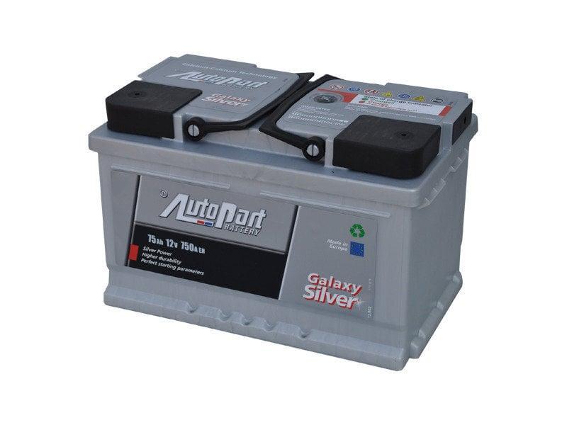 Аккумулятор 75AH 750A GALAXY цена и информация | Akud | kaup24.ee