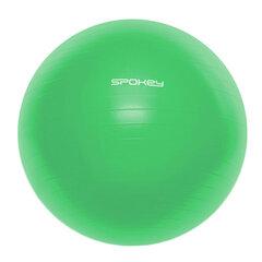 Võimlemispall Spokey Fitball III pumbaga, 65cm, roheline hind ja info | Võimlemispallid | kaup24.ee
