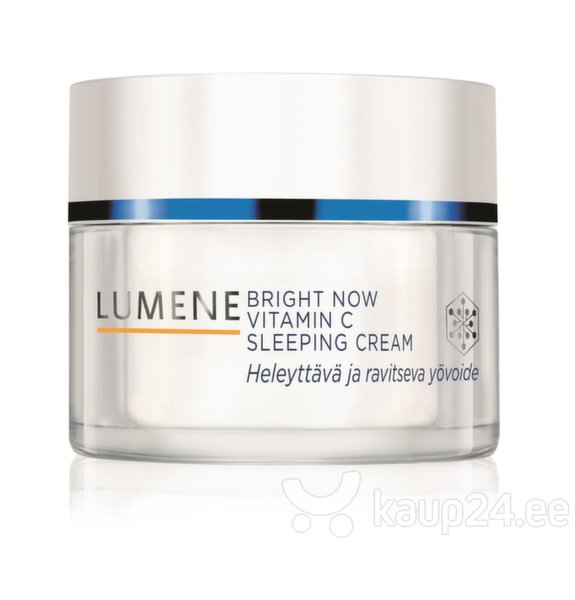 Ночной крем Lumene Bright Now Vitamin C 50 мл цена и информация | Näokreemid | kaup24.ee