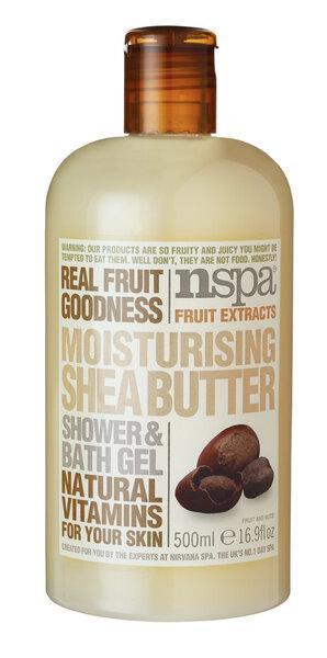 Sheavõilõhnaline dušigeel NSPA, 500 ml hind ja info | Dušigeelid, seebid | kaup24.ee