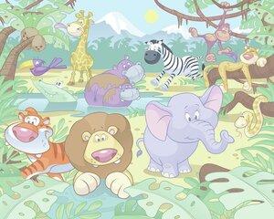 Fototapeet Jungle Safari