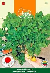 Sidrunmeliss Lemon balm, ASEJA, 1g, 10500( 6 ) hind ja info | Maitsetaimede seemned | kaup24.ee