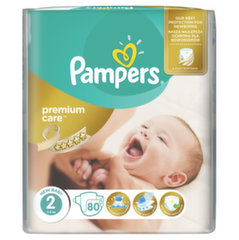 Памперсы​ PAMPERS Premium Care, размер 2, 80 шт. ​