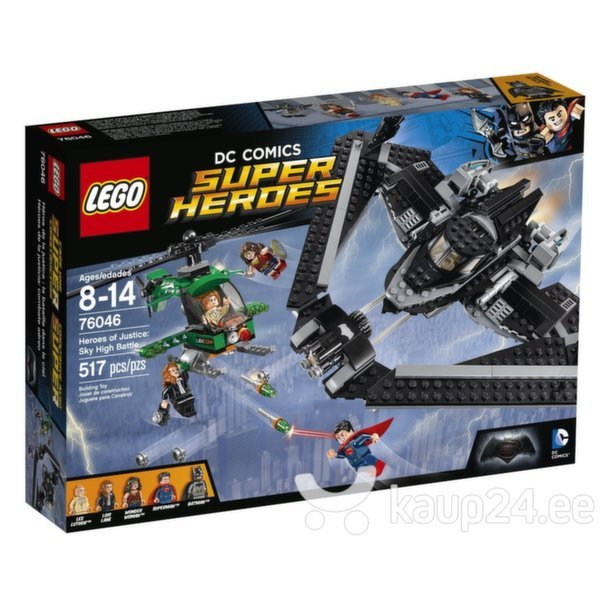 Klotsid Lego Super Heroes Heroes of Justice: Sky High Battle 76046 цена и информация | Kokkupandavad mänguasjad | kaup24.ee