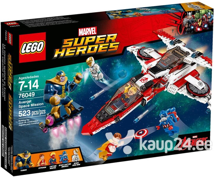 Klotsid Lego Super Heroes Avenjet Space Mission 76049​ цена и информация | Kokkupandavad mänguasjad | kaup24.ee