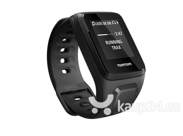 Nutikell Tomtom Spark Music (S) must