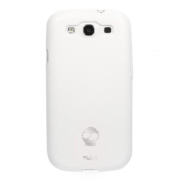 Kaitseümbris Puro sobib Samsung galaxy S3, valge