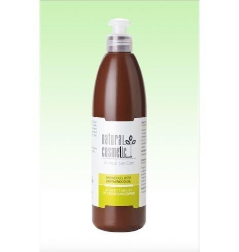 Dušigeel sandlipuuõliga Natural Cosmetic 300 ml
