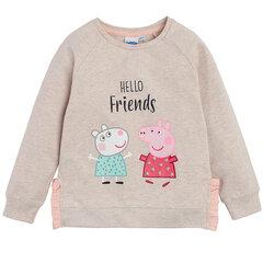 Tüdrukute pluus Cool Club Põrsas Peppa (Peppa Pig), LCG2119919 hind ja info | Tüdrukute kampsunid, vestid ja jakid | kaup24.ee