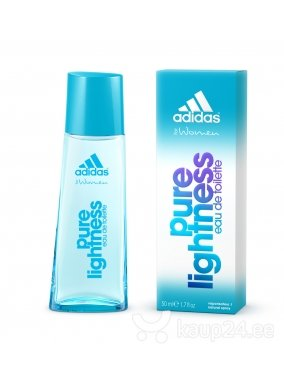 Tualettvesi Adidas Pure Lightness EDT naistele 50 ml hind