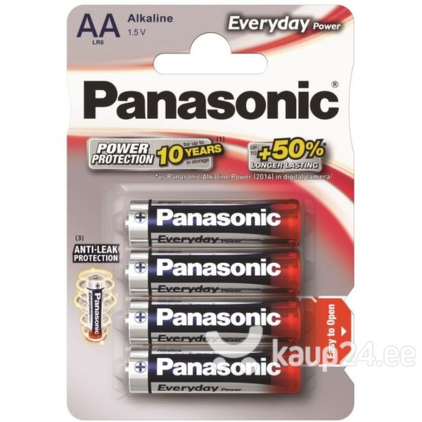 Panasonic patarei Everyday LR6 (AA)