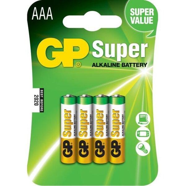 GP Super patarei LR03 (AAA)