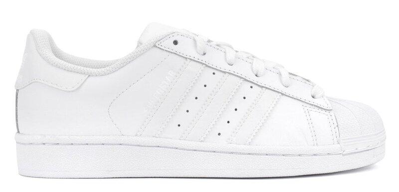 Naiste spordijalatsid Adidas Superstar J B23641 цена и информация | Jooksu- ja vabaajajalatsid naistele | kaup24.ee