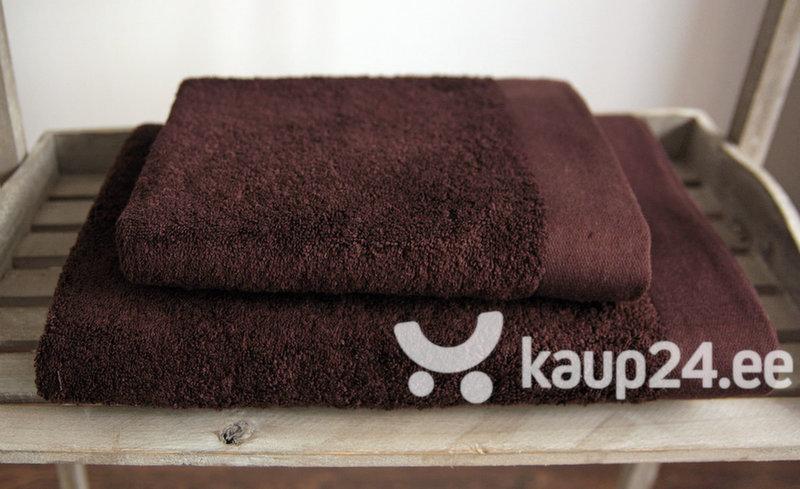 Bambuskiududest rätik, pruun цена и информация | Rätikud | kaup24.ee