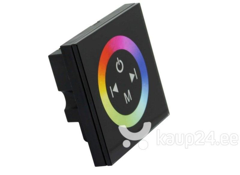 LED riba RGB kontroller seinale, must цена и информация | LED ribad | kaup24.ee